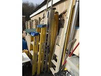 Ladders in various sizes