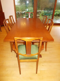 Ducal Dining Table & Six Matching Chairs