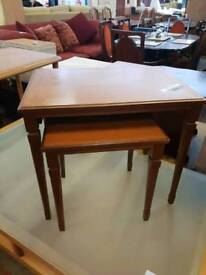 Nest of tables in excellent condition