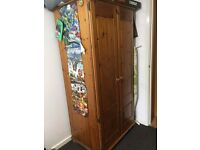 Pine Wardrobe - Excellent Condition - Very Solid