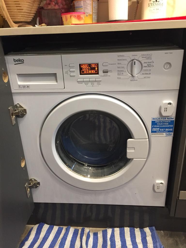 Washing machine 7KG Drum 1600rpm A+ (Integrated)