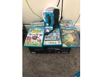 32gb BOXED wii u and 5 games plus more