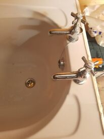 Brand new bath and bath taps for sale
