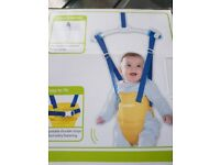 Baby jumper lindam jump about