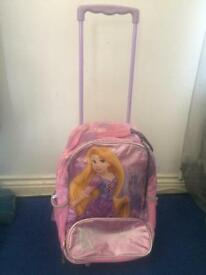 Rapunzel girl travel trolley