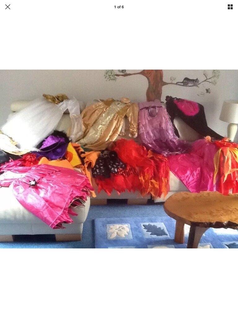 Halloween, disney, large girls bundle fancy dress costumes 13 in total