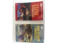 Set of 2 'True Stories: WWII and The Blitz' books - Perfect condition