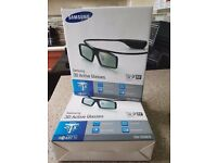 samsung 3d active glasses (2 pairs)