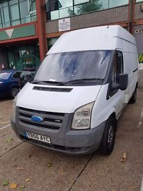 Ford transit high roof 2007 Ready for work