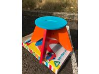 ELC Junior Artist Colourful Wooden Stool NEW Boxed