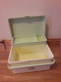 Baby bath storage box