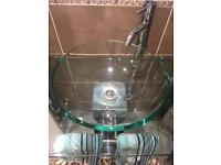 Wash Basin & Pedestal