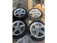 AUDI A5 S LINE 2018 set of 4 with tyres
