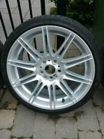 BMW MV4 REAR Wheel (9J) & Falken 265 30 19 Tyre