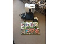 Xbox 360 Kinect 250G console,2 controls & 9games