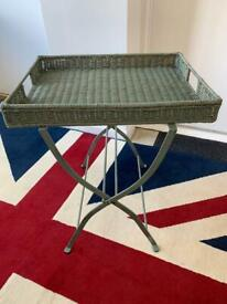 Metal frame table