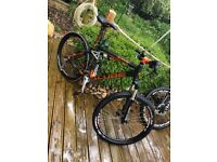 Cube XMS Medium 26 Full Suspension Mountain Bike