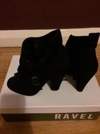 Ravel Ladies shoe boots size 3.