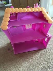 Children's toy lalaloopsy house