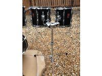 6 Piece Premier Drum Kit ( shells plus 2 double tom holder)