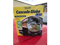 Cascade globe fish bowl