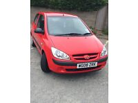 Excellent condition Hyundai Getz. Full service history. 1 previous owner. Ideal first car!