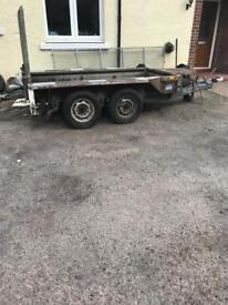 Ifor Williams GX84 plant trailer