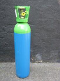 Welding Gas - Argoshield - Argon / CO2 - Full Bottle - 10 Litre Size