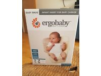 New - Ergobaby - Easy Snug Infant Insert: Cool Air Mesh Natural