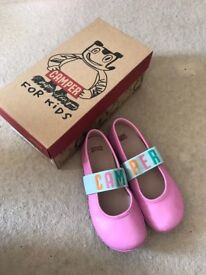 Pink Camper Children Shoe