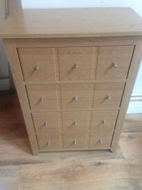 Small wooden drawers