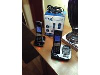 BT TWIN HOME PHONE SET BT2200