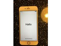 iPhone 6 s Gold 64gb