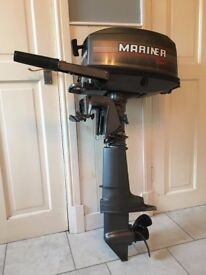 4hp Mariner outboard engine