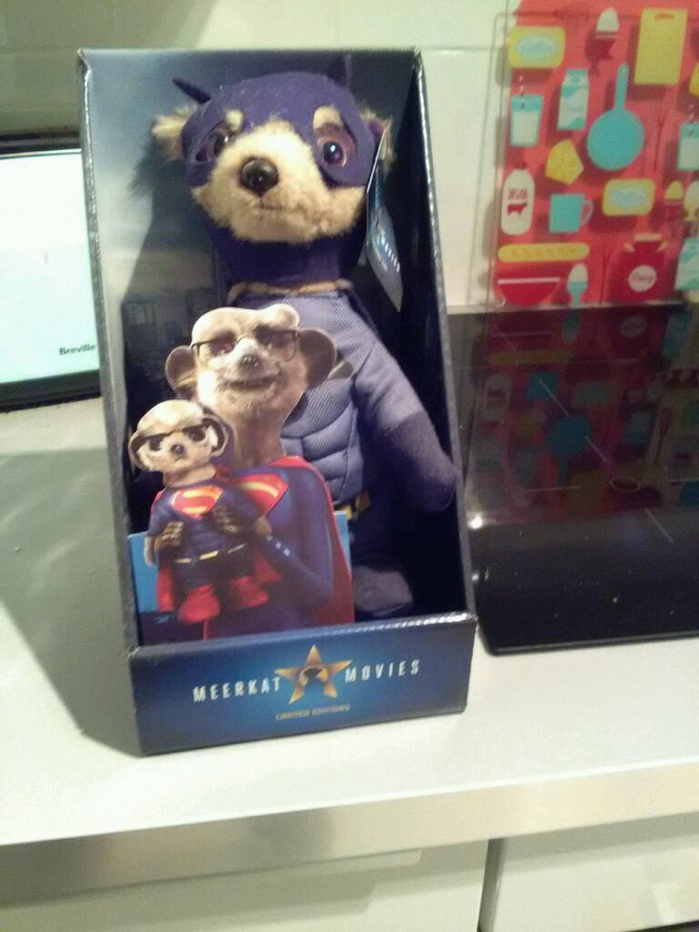Batman meerkat toy, Aleksandr. Limited edition