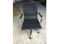 FREE: Office chair John lewis with 1 broken wheel