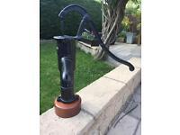 Cast iron pump