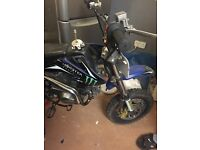 Pitbike 125cc good condition,