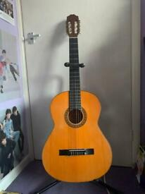 Right handed acoustic guitar