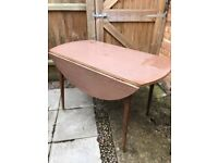 Drop leaf table 4 seater
