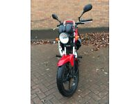 Yamaha YBR 125 red/black