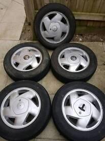 Vauxhall alloys cavalier/astra/nova/corsa