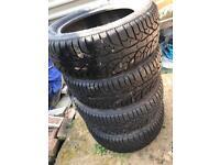 Winter tyres 15in