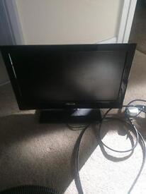 Small kids tv with built in DVD player