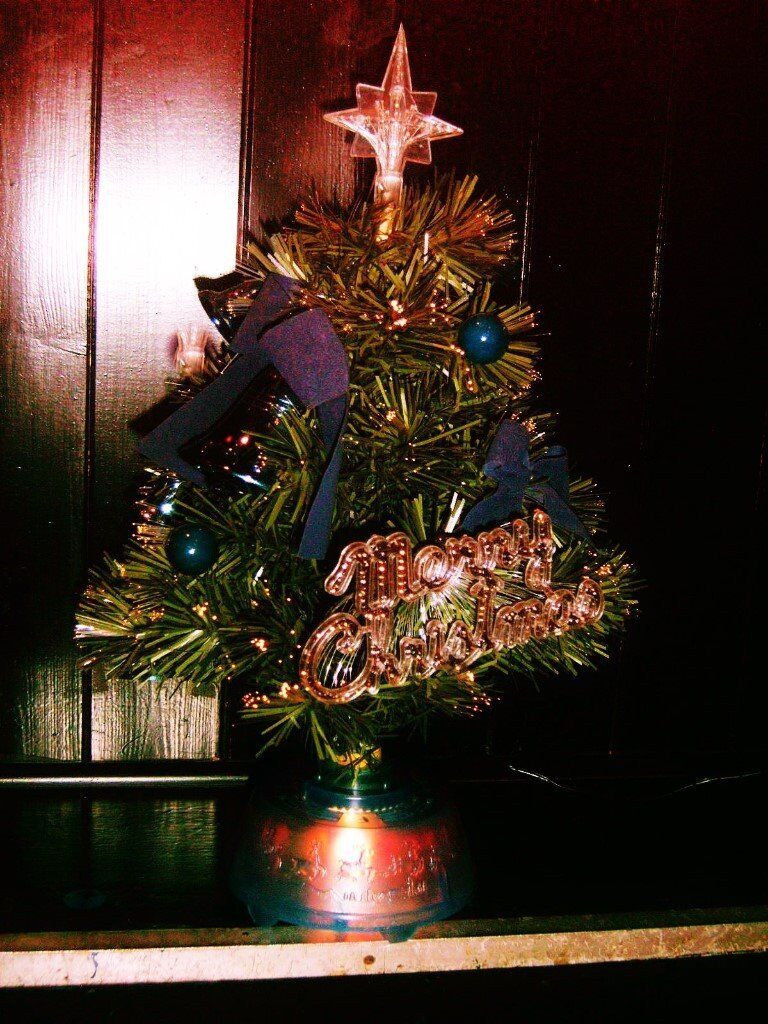 christmas tree with led fading light colours and rotating action 2 available 12 each
