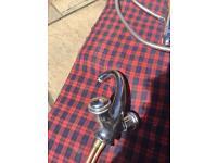 Monobloc tap for kitchen sink