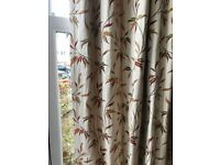 Excellent quality, heavy, 100% blackout, large bay curtains