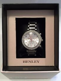 Henley Ladies Fashion Bracelet Watch Silver Product no. H07282.14