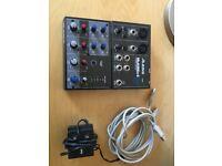 Alesis 4 channel USB mixer