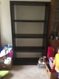 Ikea Tall shelving unit ideal for living room